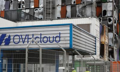 Fire at French cloud computing firm disrupts websites