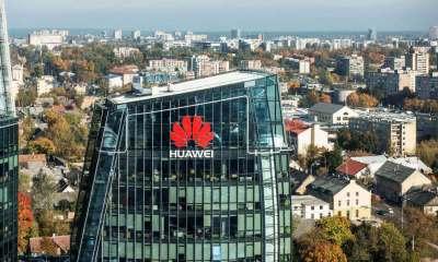 Huawei says sales down