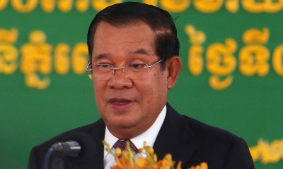 Cambodian leader boasts he barged into opposition video call