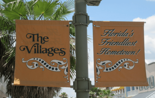 The Villages banners