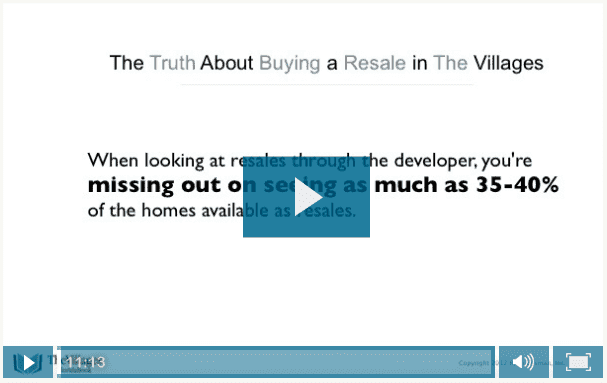 The Truth About Buying a Resale in The Villages