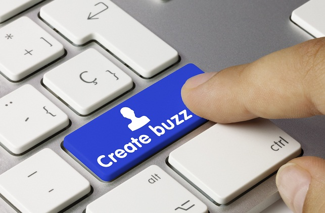 Create buzz. Keyboard