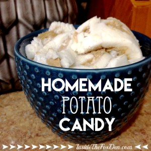 Potato Candy Recipe