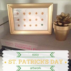 Easy St. Patrick's Day Artwork