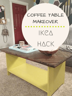 Coffee Table Makeover | Inside the Fox Den