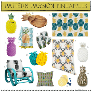 Pattern Passion: Pineapples