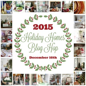 Candy Coated Living Room | 2015 Holiday Homes Blog Hop