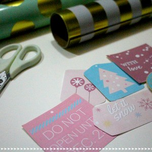 Pastel Gift Tags