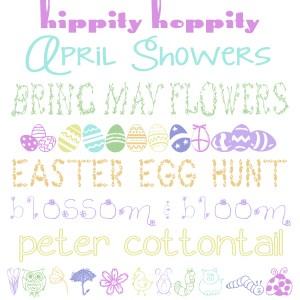 10 Free Easter & Springtime Fonts