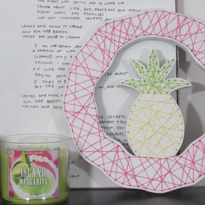 DIY Embroidered String Art Summer Wreath | Thrift Store Upcycle Challenge!