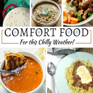 Comfort Food Recipes for Chilly Weather