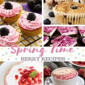 Spring Time Berry Recipes