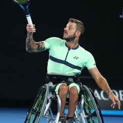 Wheelchair Quad Red Chair Pads Australia Among Past Champions To Claim Event Wins As Heath Davidson Survived A Scare Contribute S 3 0 Win Over South Africa