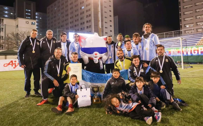 Argentina's blind football team had been among the nominees for the monthly prize ©IBSA Blind Football