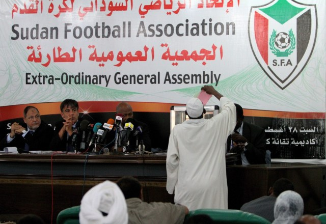 FIFA were also forced to intervene in the 2010 Sudan Football Association elections ©Getty Images