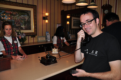 Josh Daws at Guest Relations