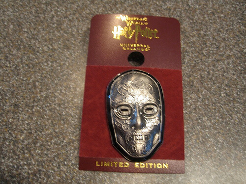 Death Eater mask pin $9.95