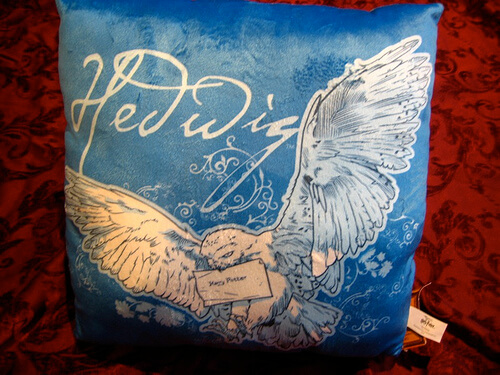 Hedwig Pillow (Front) $17.95