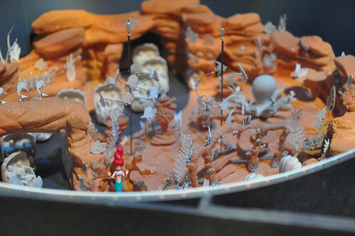 The Little Mermaid: Ariel's Adventure model