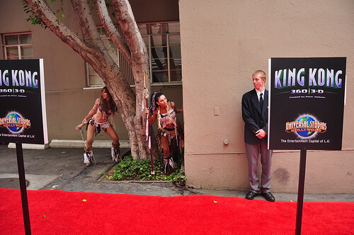 King Kong 3D world premiere event tribal entertainment