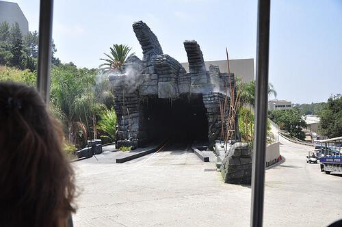 King Kong 3D entrance