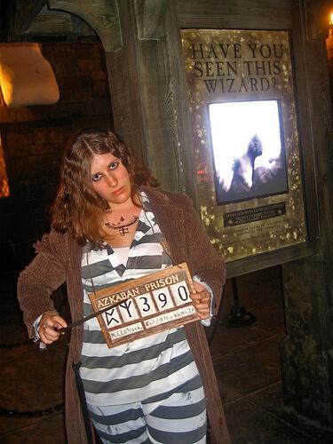 Azkaban prisoner costume