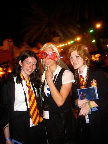 Hogwarts student costumes