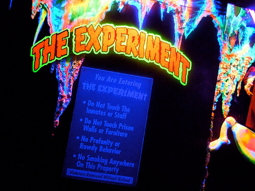 Terror Behind the Walls - The Experiment
