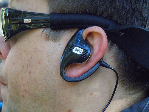 Wild Africa Trek earpiece
