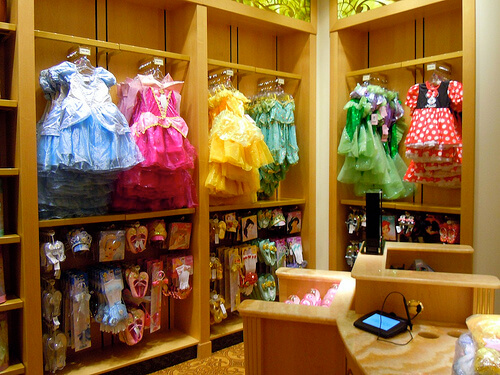 Disney Princess merchandiseWhite Caps - Disney Dream shopping