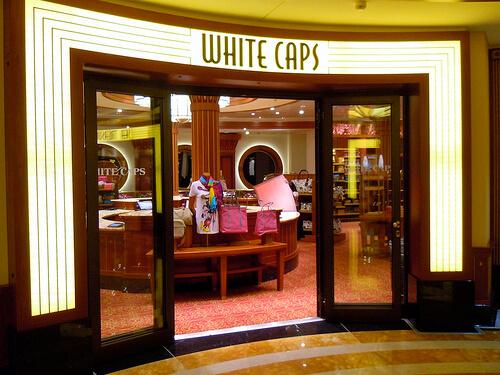 White Caps - Disney Dream shopping