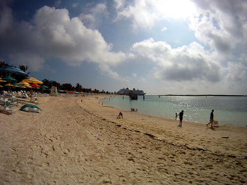 Beach - Castaway Cay