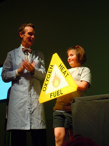 Bill Nye the Science Guy at Epcot