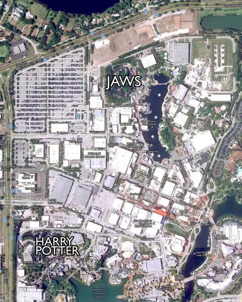 Universal Studios Orlando Jaws Replacement