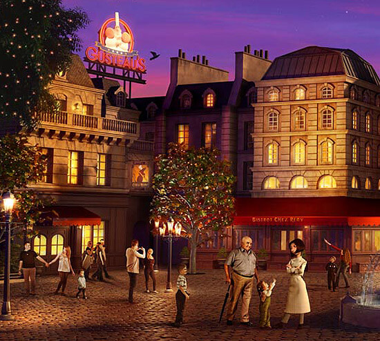 ratatouille land coming to disneyland paris the disney life. Black Bedroom Furniture Sets. Home Design Ideas
