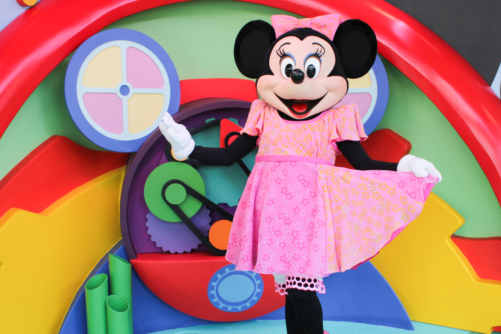 New disney junior minnie mouse meet and greet at walt disney an error occurred kristyandbryce Images