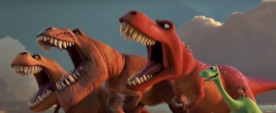 TRex and Arlo 2 Good Dinosaur