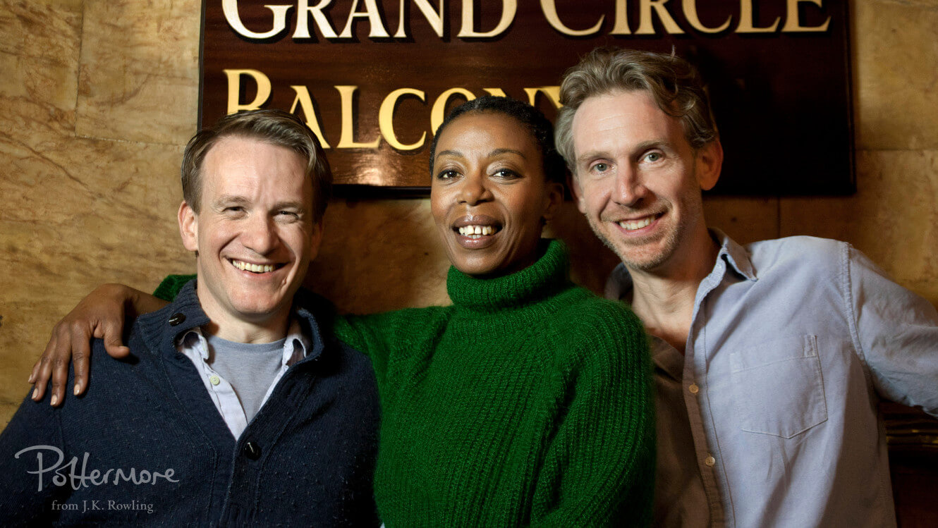 Jk Rowlings Harry Potter And The Cursed Child Casts Three Leads