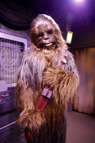 Chewbacca Star Wars Launch Bay
