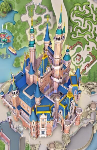 sdl castle map