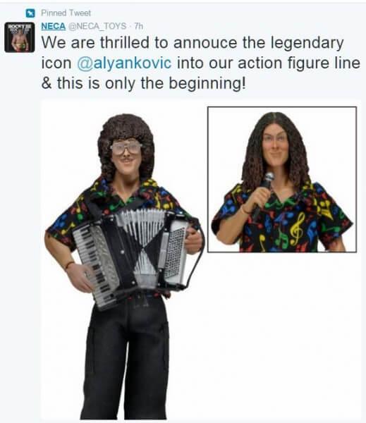 twitter - Weird Al figure