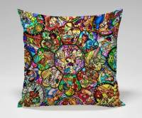 Disney stained glass pillow case | Inside the Magic