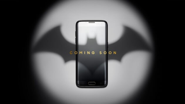 Batman Samsung phone