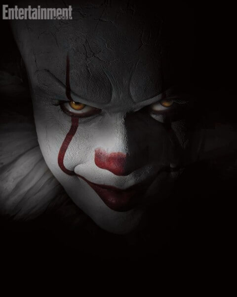 pennywise face