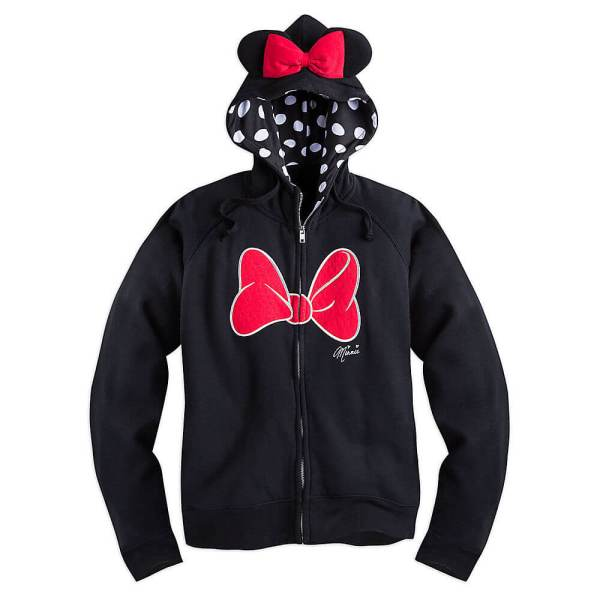 Minnie Mouse Zip Hoodie Disney Store Magic