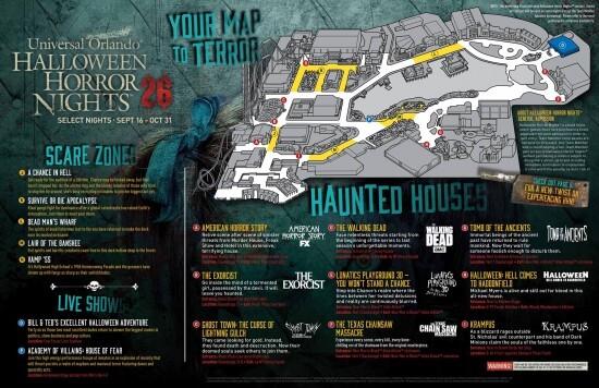 HHN Map
