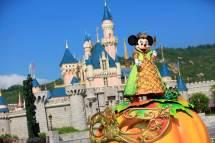 Hong Kong Disneyland Celebrates Halloween Time With '