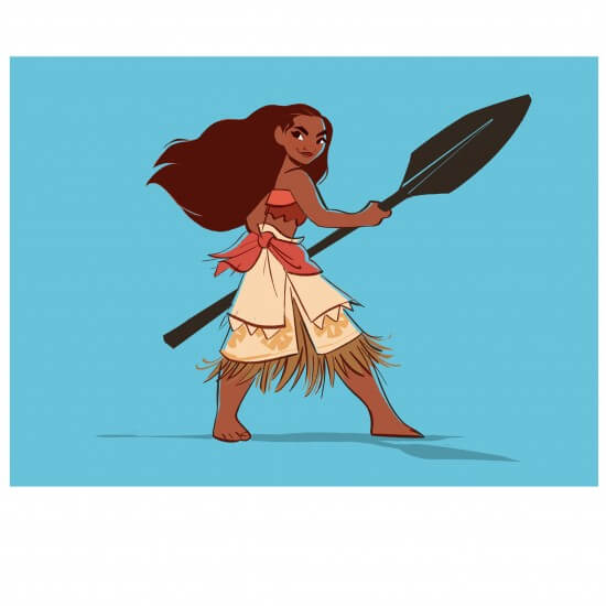 MOANA visual development. Artist: Bill Schwab, MOANA Art Director, Characters.