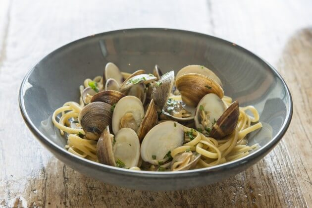 Clams Linguini