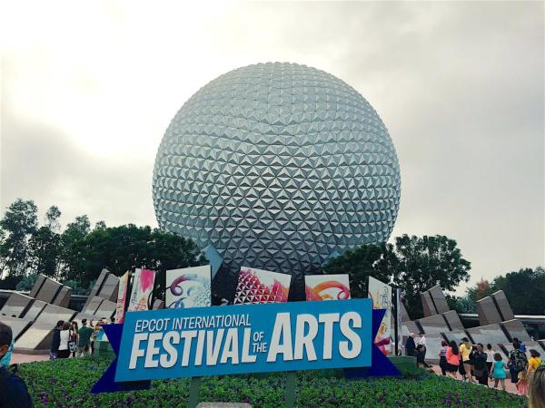 Disney World Epcot Food Festival of Arts